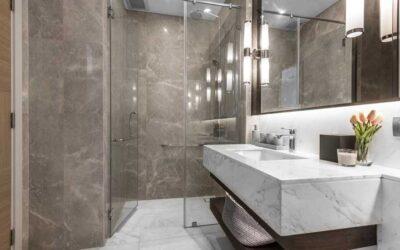 Hoe maak je marmer schoon in de badkamer